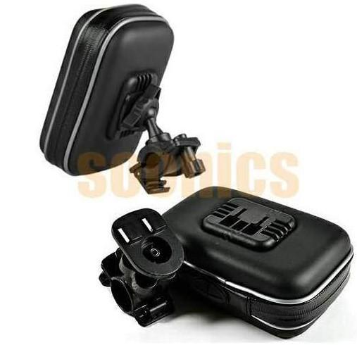 """Waterproof Motorcycle Bicycle Bike Mount Case Bag for 3.5"""" 4.3"""" Garmin TomTom Magellan GPS  Free Shipping & Drop Shipping"""