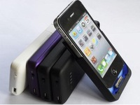 20PCS External Battery Case 1900Mah extra power for Iphone 4 4s