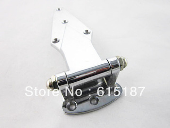 Silver Tone Alloy Hardware Latch Type Door Hinge for Oven Steamer