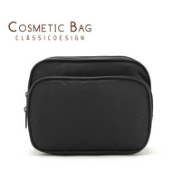 Free Shipping 2013 New Black Square Cosmetic Bag Storage Bag Scrubbing Wash Bag Travel Bag Toiletry Kits Pouch B039