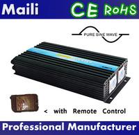 Single Phase/Off Grid Inverter,24V 220V 2500W Pure Sine Wave Inverter with Remote Control