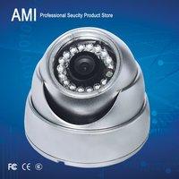 Free shipping CCTV Outdoor dome Camera  Day Night Vision Surveillance 540TVL Security camera metal case sliver colour