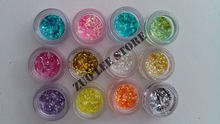 colored glitter promotion