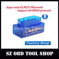 Super mini elm327 smart elm327 scan tool mini bluetooth elm327 car obd obdii can bus scanner wireless elm 327 interface