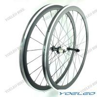 1415g Carbon Wheels 38mm 700C Clincher Road Bike Wheels Alloy Brake Surface Carbon Wheelset Powerway R13 Hubs CN Aero 424 Spokes