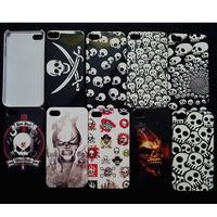 Halloween Sale Ghost Skeleton Skull Design case for iphone 4/4s smart hard plastic back case 50 pcs/lot DHL Drop Ship