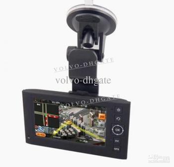 "New 4.3"" car dvr camera recorder dashboard vehicle car dvr GPS + DV device H.264"