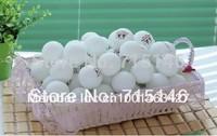 Free shipping 200 PCSBig 40mm Olympic 3 Stars ping-pong Balls Table Tennis Balls white ball