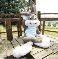 Plush toy sweater bugs bunny doll dolls big rabbit cloth doll birthday gift
