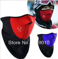 skip products, winter mask,snow mask/ Cycling/Motor/Warmer Half Face Mask,blue, black, red, wholesale,free shipping,10pcs 1 lot