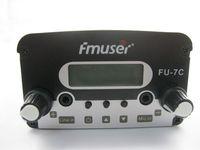 7watt CZH-7C CZE-7C FU-7C FM stereo PLL broadcast transmitter 76MHz-108MHz