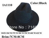 double's cowboy hat for men wool felt 100% with new fashion style and good quality and brim :7CM-8CM
