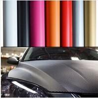 High Quality 3D Carbon Fiber Vinyl Car Wrapping Foil 1.52*2M,Carbon Fiber Car Decoration Sticker,Many Color Option