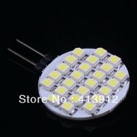 Free shipping 100pcs warm White/cool white  Marine Light Bulb G4 24 SMD LED Lamp 12 V car led lighting