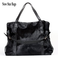 New Star Bags holiday sale  winter women's horsehair bag  genuine leather women's handbag fashion star cow shoulder bag mm33