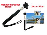 "2014 Best Gift Z07-1 Portable Handheld Monopod Exterder Tripod for Digital Camera Universal 1/4""-20 Screw Head Phone Monopod"