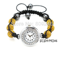 2013  Free shipping  colorful shamballa watch bracelet 12pcs/lot shamballa beads for bracelet supplier