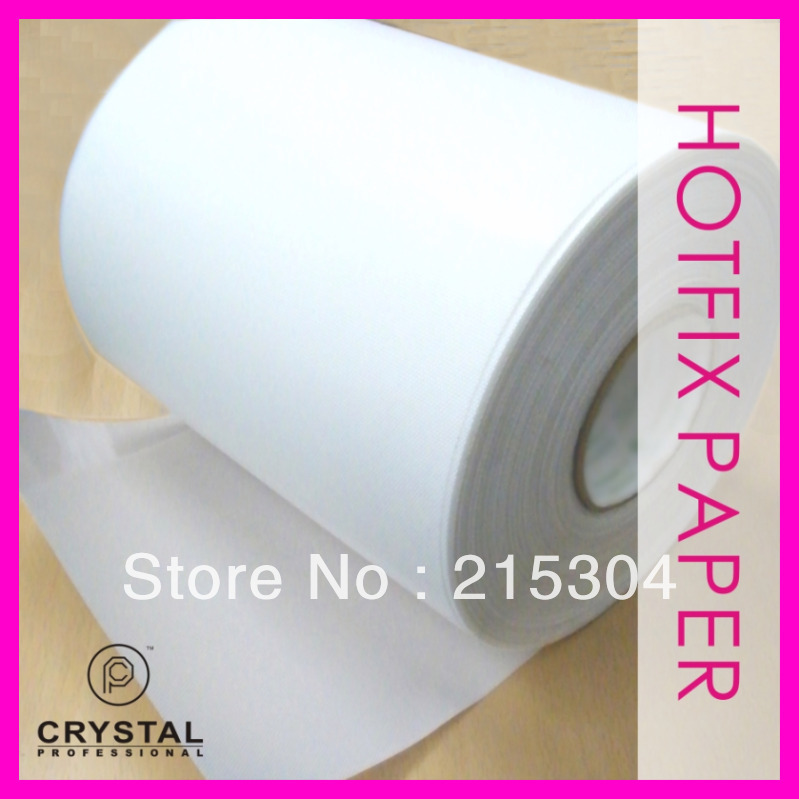 330 feet x 9.5 Inch Hot-fix Transfer Film Mylar Tape Paper Hotfix Rhinestones Iron On Applicator Crystal Nail design DIY Tools(Hong Kong)