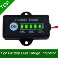 Wholesale 12V Battery Fuel Gauge Indicator For 12V Lead-Acid Battery SLA,AGM,GEL,VRLA Battery Packs