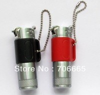 5pcs/lot Mini Grinding Wheel Gas Lighter Camping Emergency Keychain Flame Lighter