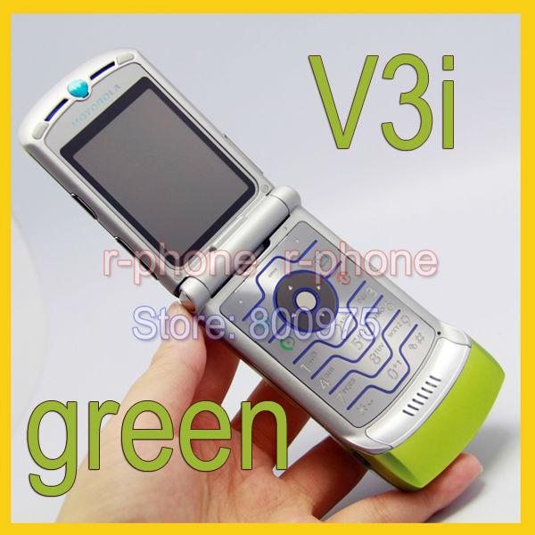 Original Unlocked Motorola RAZR V3i Mobile Cell Phone Refurbished(China (Mainland))