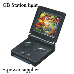 2.7inch lcd handheld game players for GB station light console games support dropshipper(China (Mainland))