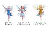 2014 New Toy, Flitter Fairies, Mara, Daria, Alexa, Aerioth, Eva Magic Toy, Flying Faery, Free shipping