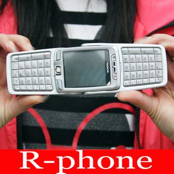 90% New Original NOKIA E70 Mobile Cell Phone GSM 3G Wifi Silver Unlocked E70 Smartphone Gift