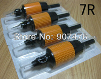 "Disposable Tattoo Grips Tubes Sterilized Assorted 1""(25mm)  For 7R Kits Machine Grips Free Shipping"