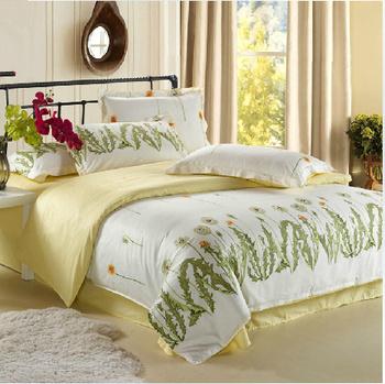 Promotion !! Free shippingbedding set  duvet cover set bedclothes Bed Sheets 4pcs Bedding Set duvet cover set  bedding