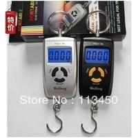 Portable LCD Digital Electronic Luggage Hanging Hook Fish Fishing Weighing Apparatus Balance Pocket Scale Mini 40Kg x 10g