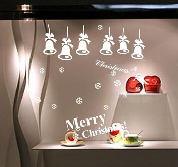 ZooYoo Wall Sticker 8017     Merry Christmas/Vinyl Wall Decals :62*62cm