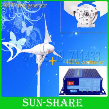 2014 hot selling Max power 500w 12v /24vwind power  /small windmill/wind turbine/magnet wind kits +wind controller