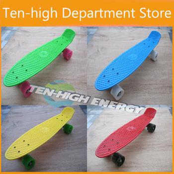 Fedex Freeshipping (5pc/lot) ! mini cruiser plastic skateboard,Penny Skateboards Nickel Complete Skateboard