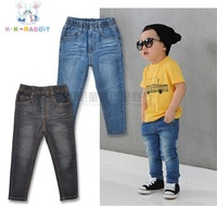 Free shipping, pencil children jeans wholesale (for 90-130CM 5 PCS/Lot)