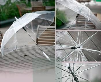 Free shipping 4pcs/lot promotional umbrella,beautiful umbrella,multi transparent colour,print logo Wholesale & retail