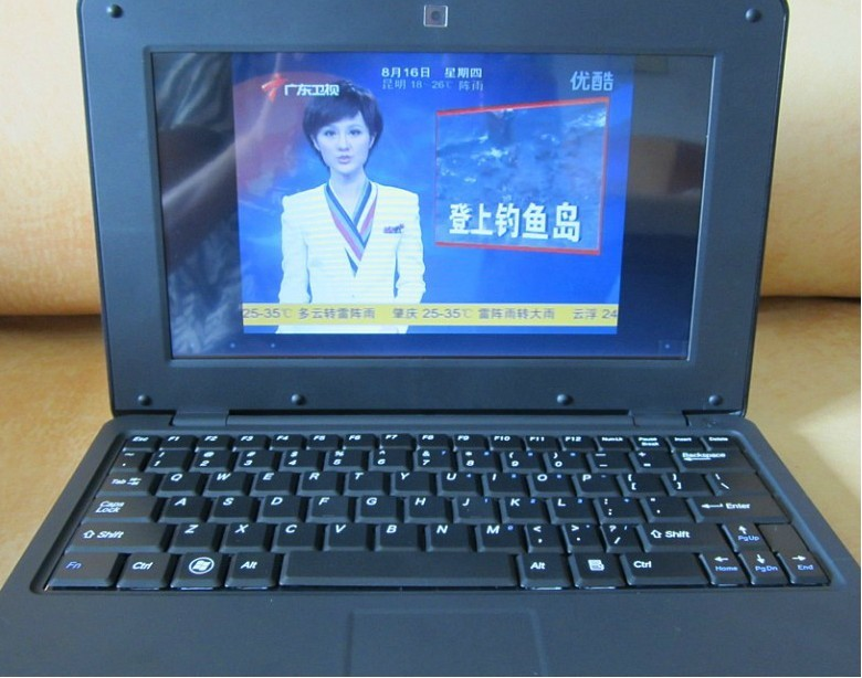 10 inch Netbook Windows CE or Android 4.0 notebook EPC English Russian Spainish keyboard