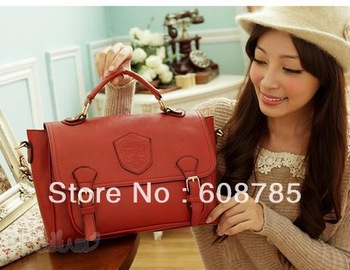 NEW ARRIVAL all-match beauty networksclassic preppy style badge handbag messenger bag FREE SHIPPING S100