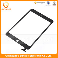 10pcs/lot For Apple iPad Mini Touch Screen Digitizer Panel Replacement Black /White color DHL Free Shipping