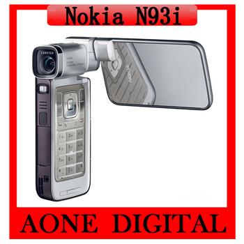 Original Refurbished Nokia N93i 3G Wi-fi 3.2 MP Symbian OS 332 MHz Dual UnlockedSmartphone Free Shipping
