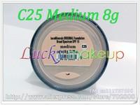 New Loose Powder Original BareMinerals Bare Minerals Sunscreen Foundation Spf15 Medium (C25) 8g (100 pcs)haven't box 100pcs