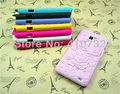 3D Sculpture Design Rose Flower Case Cover for SamSung Galaxy S2 i9100 New,8 Colors - Free Shipping
