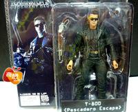 "free shipping Terminator 2 T2 T 800 sunglasses fur shot gun  ARNOLD SCHWARZENEGGER 7"" Figure"