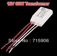 Free shipping LED SMD Halogen Light Bulb Transformer Power Supply Driver 60W 12V for MR16 MR11