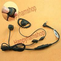 Ear hook Headset for Yaesu Vertex VX-2R VX-3R VX-5R FT-10R FT-40R FT-50 FT-60 walkie talkie