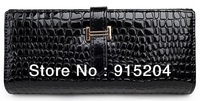 Free shipping Women's Long Wallets ladies Fashion Purse girls' Clutch Bag soft PU leather wallet B0010