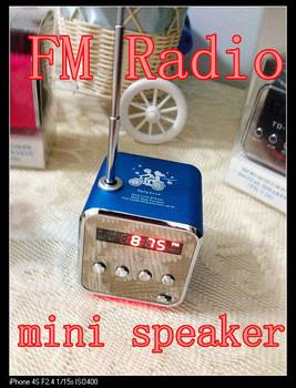 DHL, 15pcs Nuevas adquisiciones TD- V26 tarjeta portable del TF radio del USB mini altavoz digital para MP3 MP4 PC , tarjeta del TF , envío libre