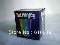 6-LED Flash Multi-Color Bar Night Light Acrylic Drink Cup (3 *AG13)