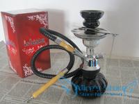 Glass Hookah Shisha  Single Hose Pumkin Hookah - Color Varies Water pipe