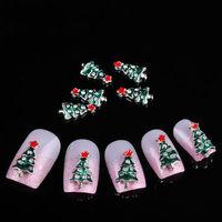 hot selling christmas nail art bows 3D decoration nail spangles alloy+rhinestone 14mm*8mm 20pcs/bag free shipping nail jewelry